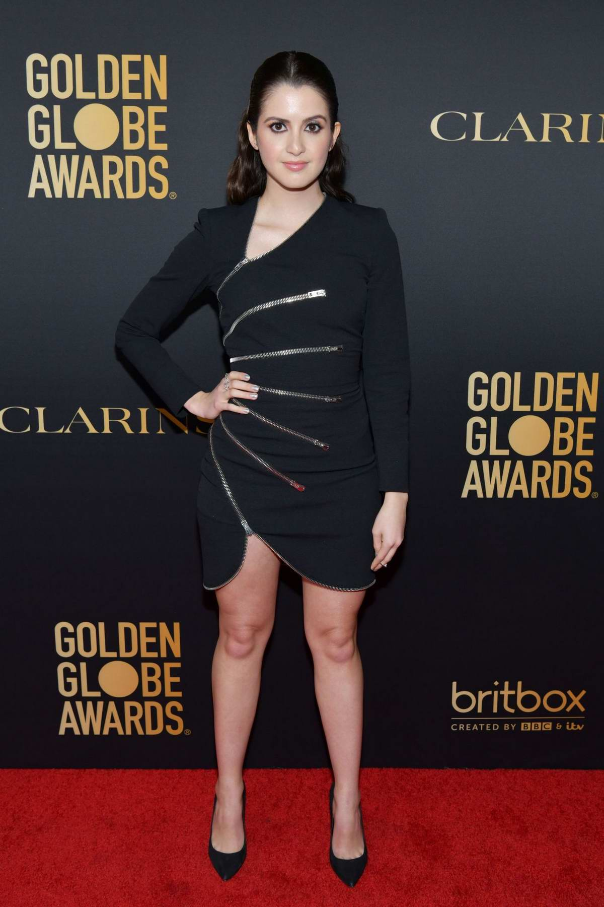 Laura Marano attends the Golden Globe Ambassador Launch Party in Los Angeles