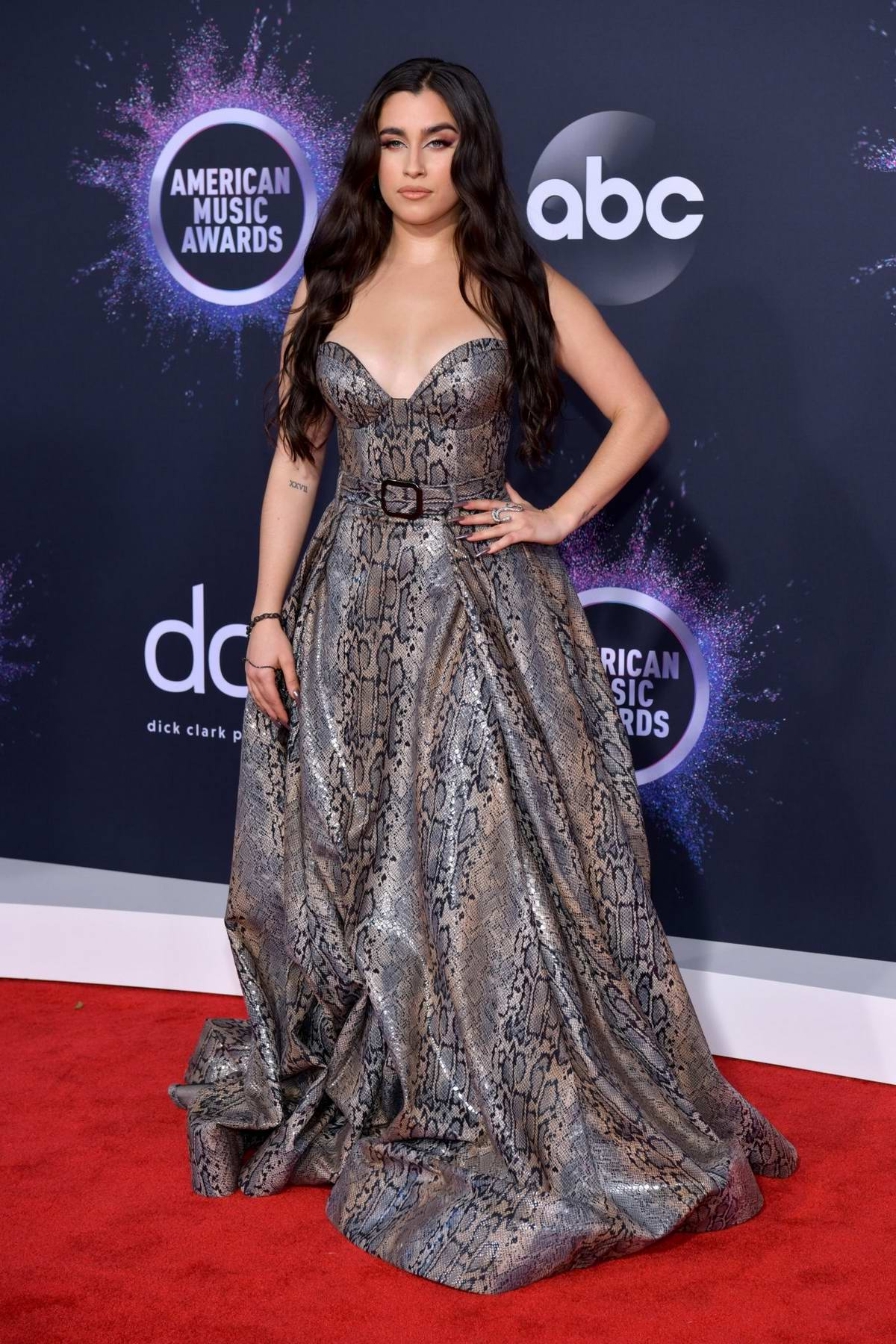 Lauren Jauregui attends the 2019 American Music Awards at Microsoft Theater in Los Angeles