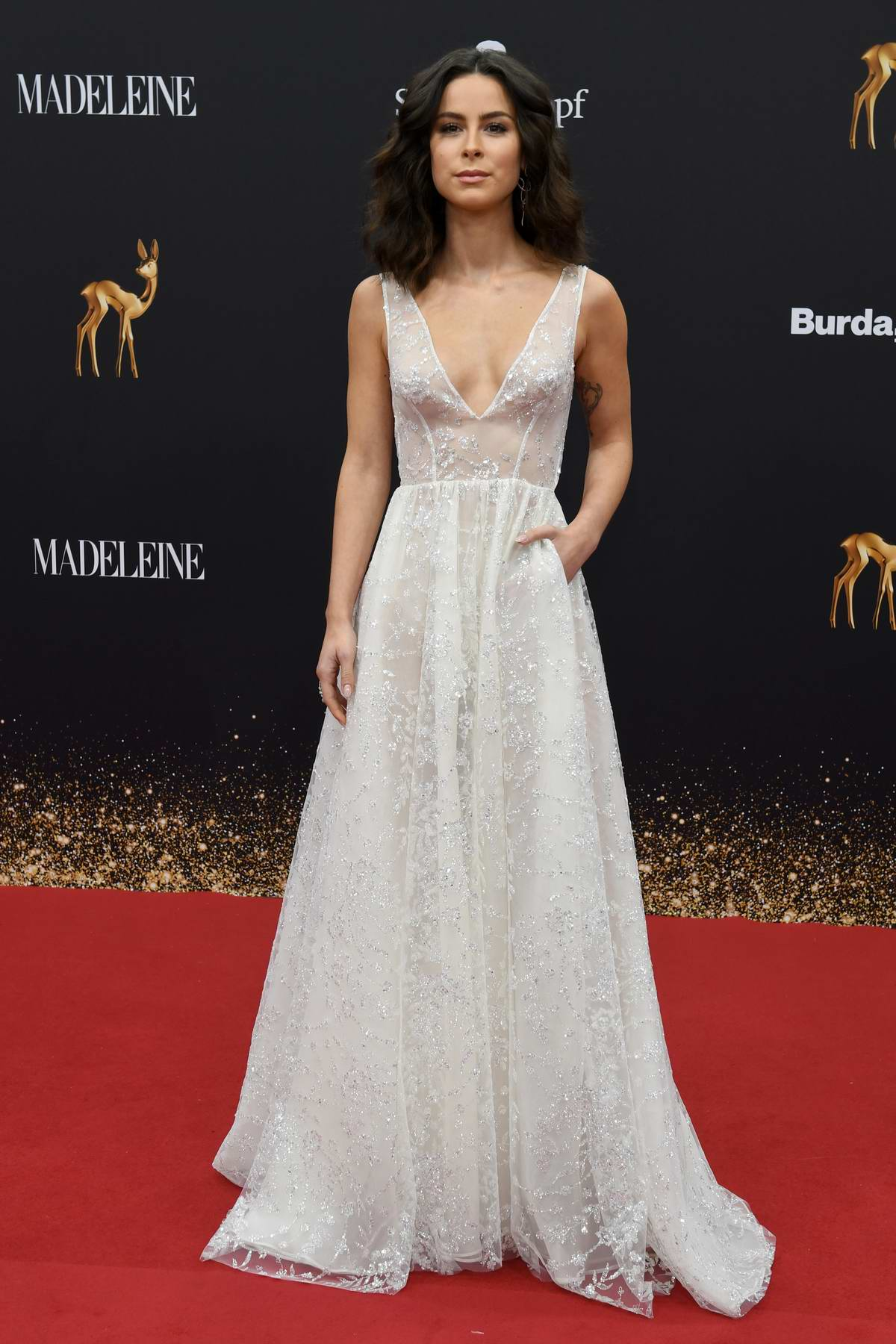 Lena Meyer-Landrut attends the 71st Bambi Awards at the Festspielhaus Baden-Baden in Baden-Baden, Germany