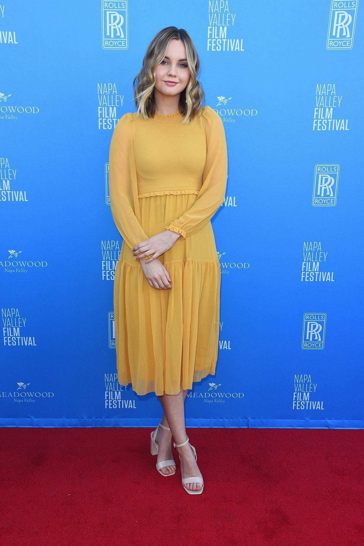 Liana Liberato attends the 'Rising Star' Showcase during the 2019 Napa Valley Film Festival in Napa, California