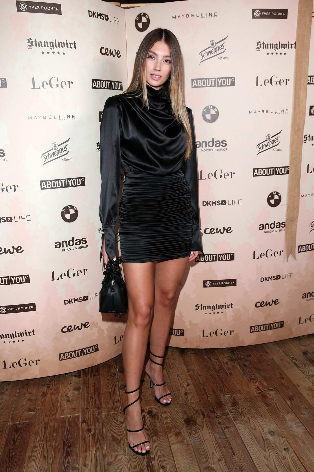 Lorena Rae Attends Lena Gercke X About You Christmas Dinner