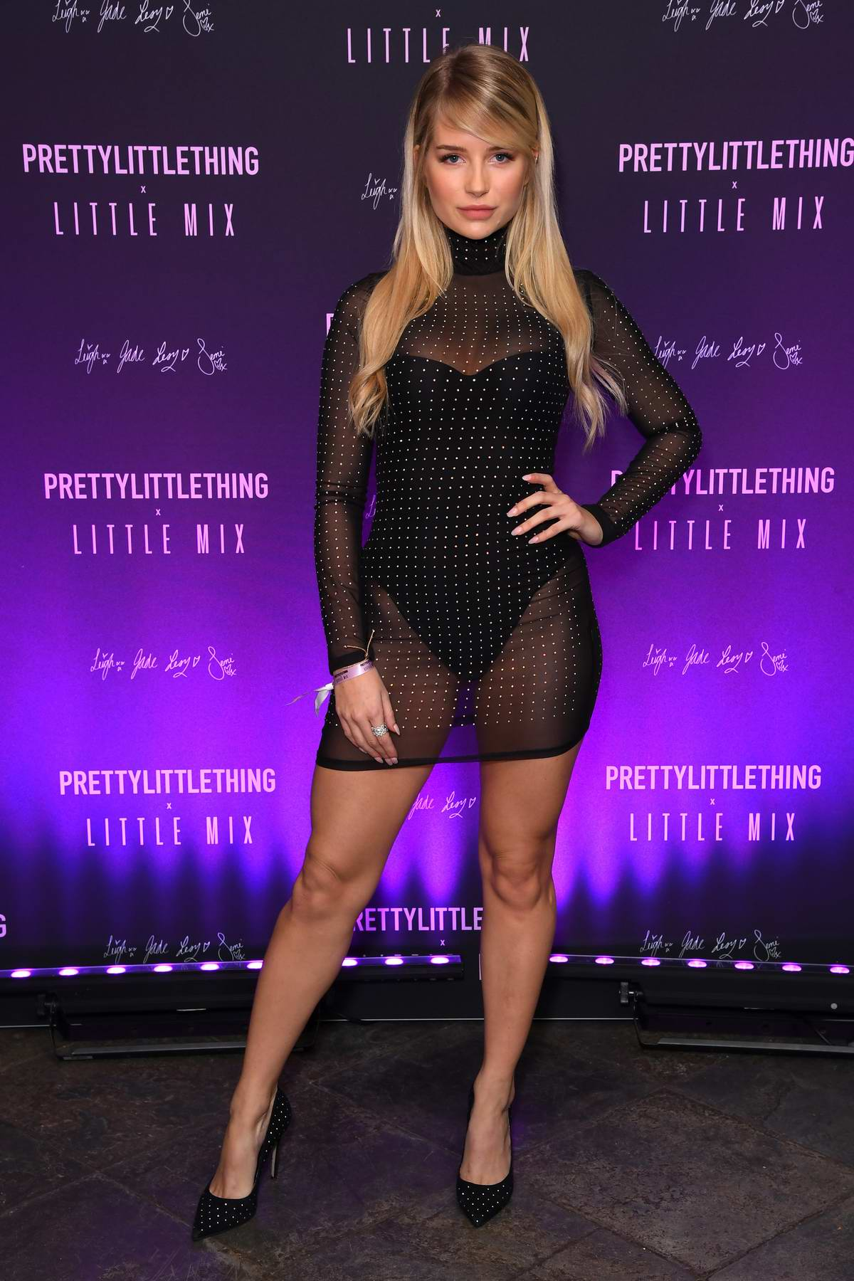 Lottie Moss attends the PrettyLittleThing x Little Mix Launch Party in London, UK