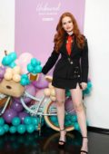Madelaine Petsch attends the Conair's Unbound Curler launch event in New York City