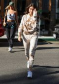 Madison Beer and Isabella Jones step out for lunch at Croft Alley in Beverly Hills, Los Angeles