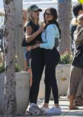 Madison Beer have some fun with her friends while out for lunch in Los Angeles
