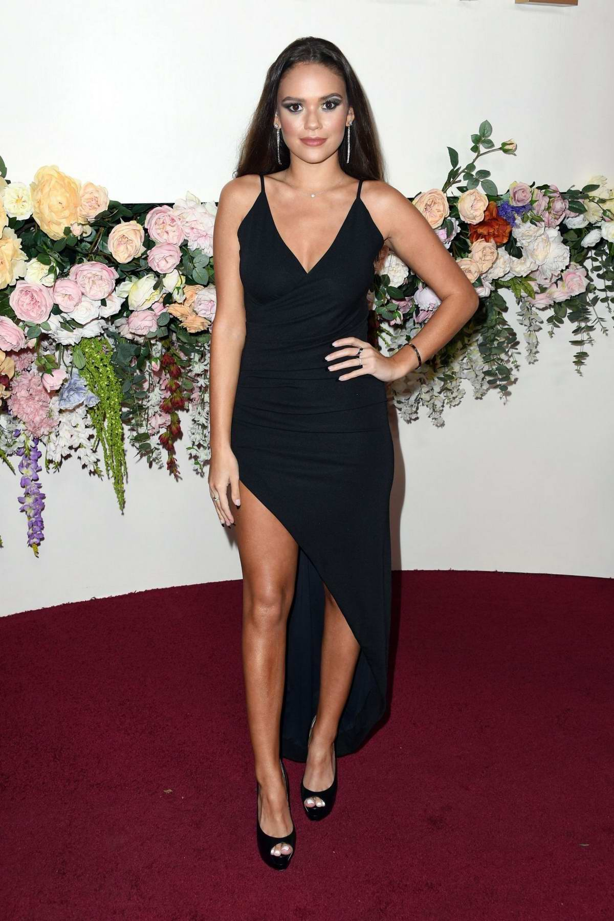 Madison Pettis attends the 3rd Annual REVOLVE Awards at Goya Studios in Hollywood, California
