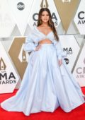 Maren Morris attends the 53rd annual CMA Awards at the Music City Center in Nashville, TN