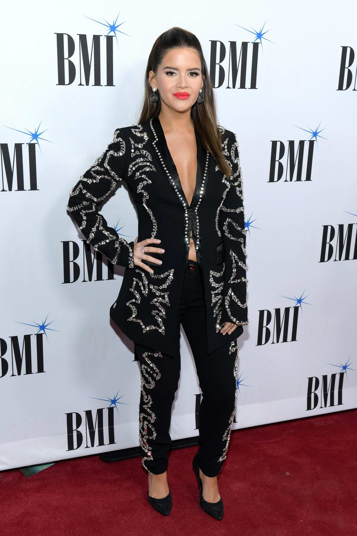 Maren Morris attends the 67th Annual BMI Country Awards in Nashville, TN