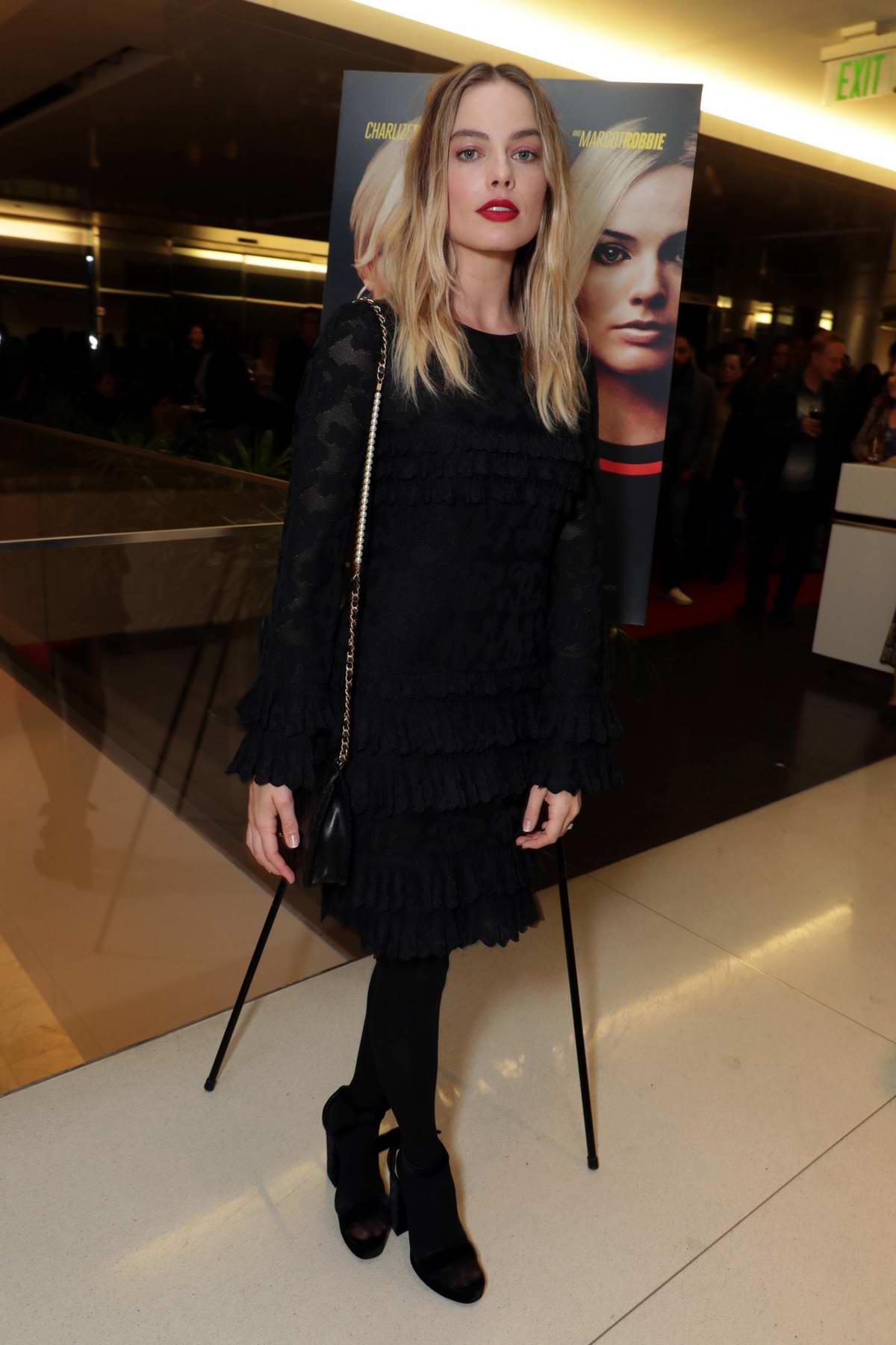 Margot Robbie attends 'Bombshell' special Tastemaker film screening in Los Angeles