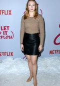 Molly Quinn attends the Premiere of Netflix's 'Let It Snow' in Los Angeles