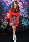 Natalia Dyer attends a Screening of 'Stranger Things', Season 3 at DGA Theater in New York City