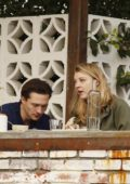 Natalie Dormer dresses down in green jacket and rolled-up skinny jeans on lunch date with David Oakes in Los Angeles
