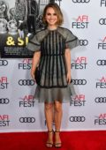 Natalie Portman attends 'Queen & Slim' Premiere at AFI Fest in Hollywood, California