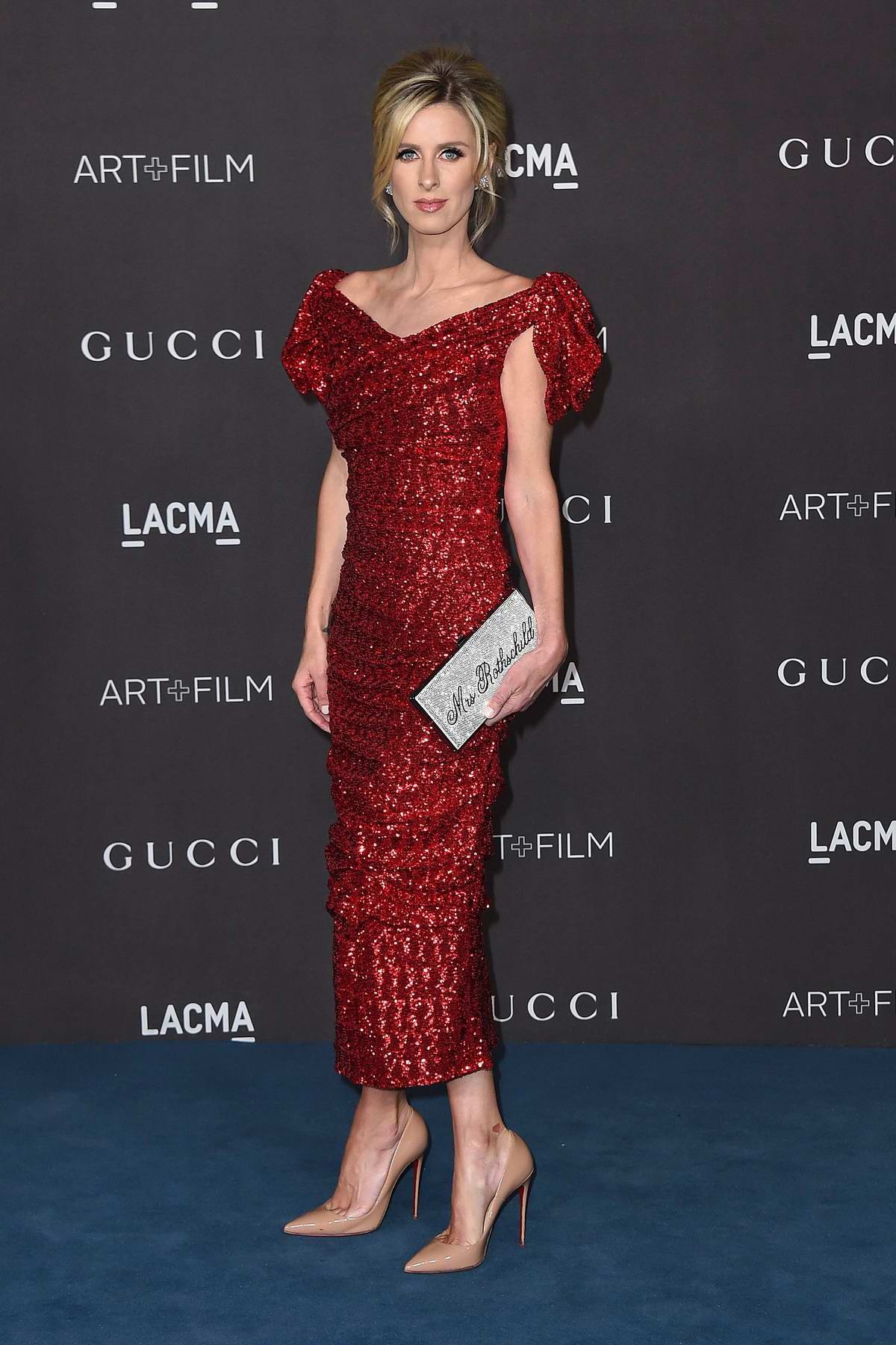 Nicky Hilton attends the 2019 LACMA 2019 Art + Film Gala in Los Angeles