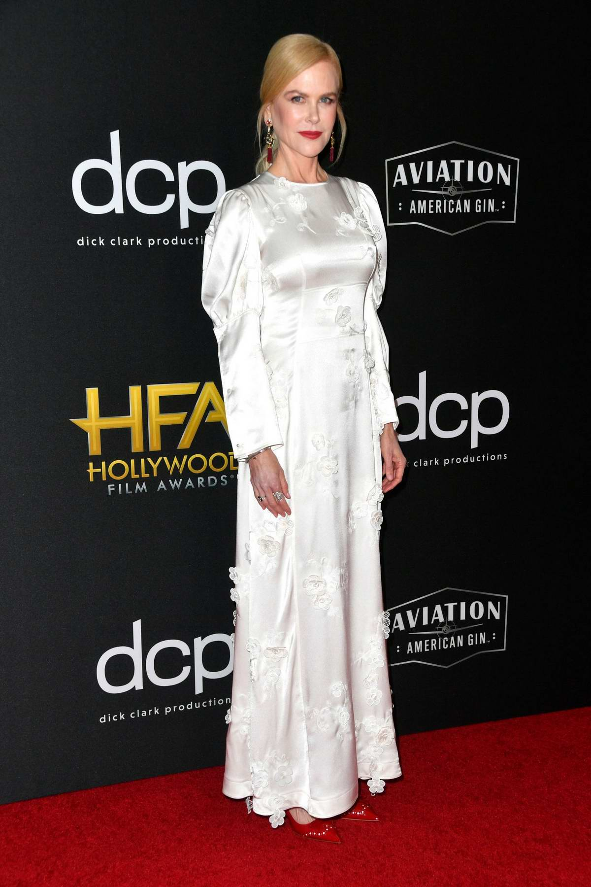 Nicole Kidman attends the 23rd Annual Hollywood Film Awards at The Beverly Hilton Hotel in Beverly Hills, Los Angeles