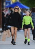 Nicole Richie steps out for some shopping with her daughter in Los Angeles