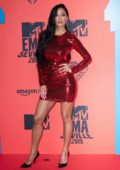 Nicole Scherzinger attends the MTV European Music Awards 2019 at FIBES Conference and Exhibition Centre in Seville, Spain