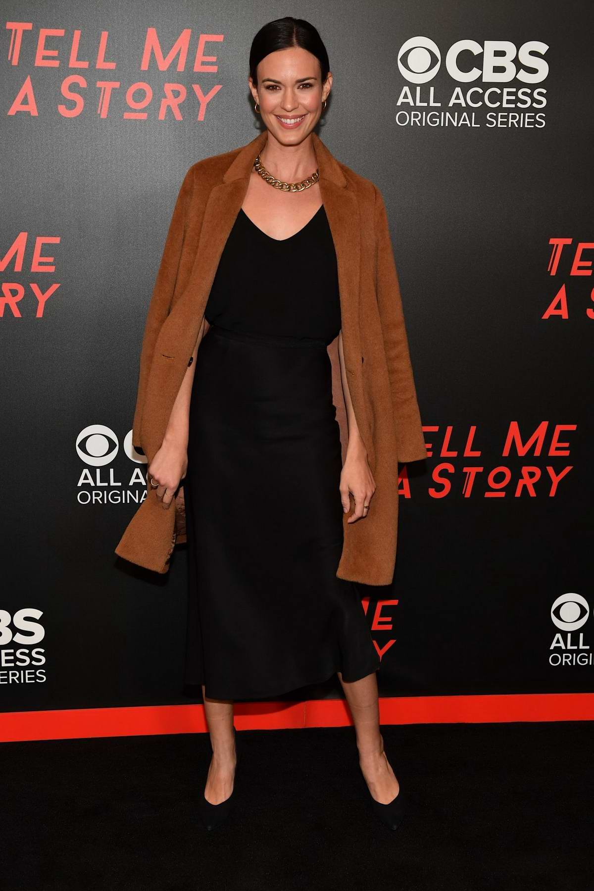 Odette Annable attends the Nashville Premiere of 'Tell Me a Story', Season 2 at Ford Theater in Nashville, TN