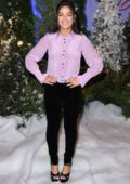 Odeya Rush attends a photocall for Netflix's 'Let It Snow' at the Beverly Wilshire Four Seasons Hotel in Los Angeles