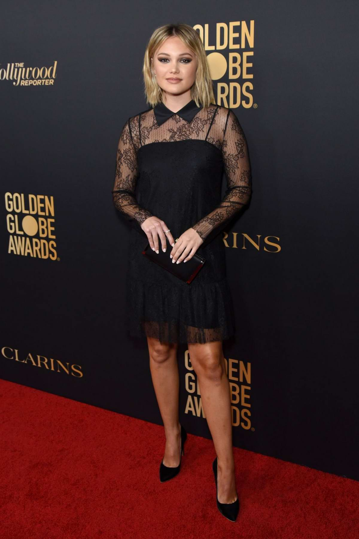 Olivia Holt attends the Golden Globe Ambassador Launch Party in Los Angeles