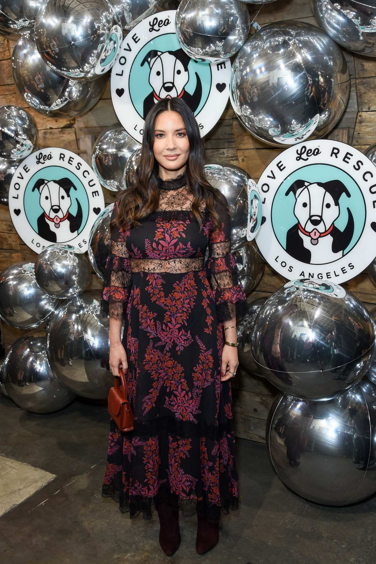Olivia Munn attends Love Leo Rescue Cocktails for a Cause in Los Angeles