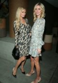 Paris and Nicky Hilton attend 1 Hotel West Hollywood Opening in Los Angeles