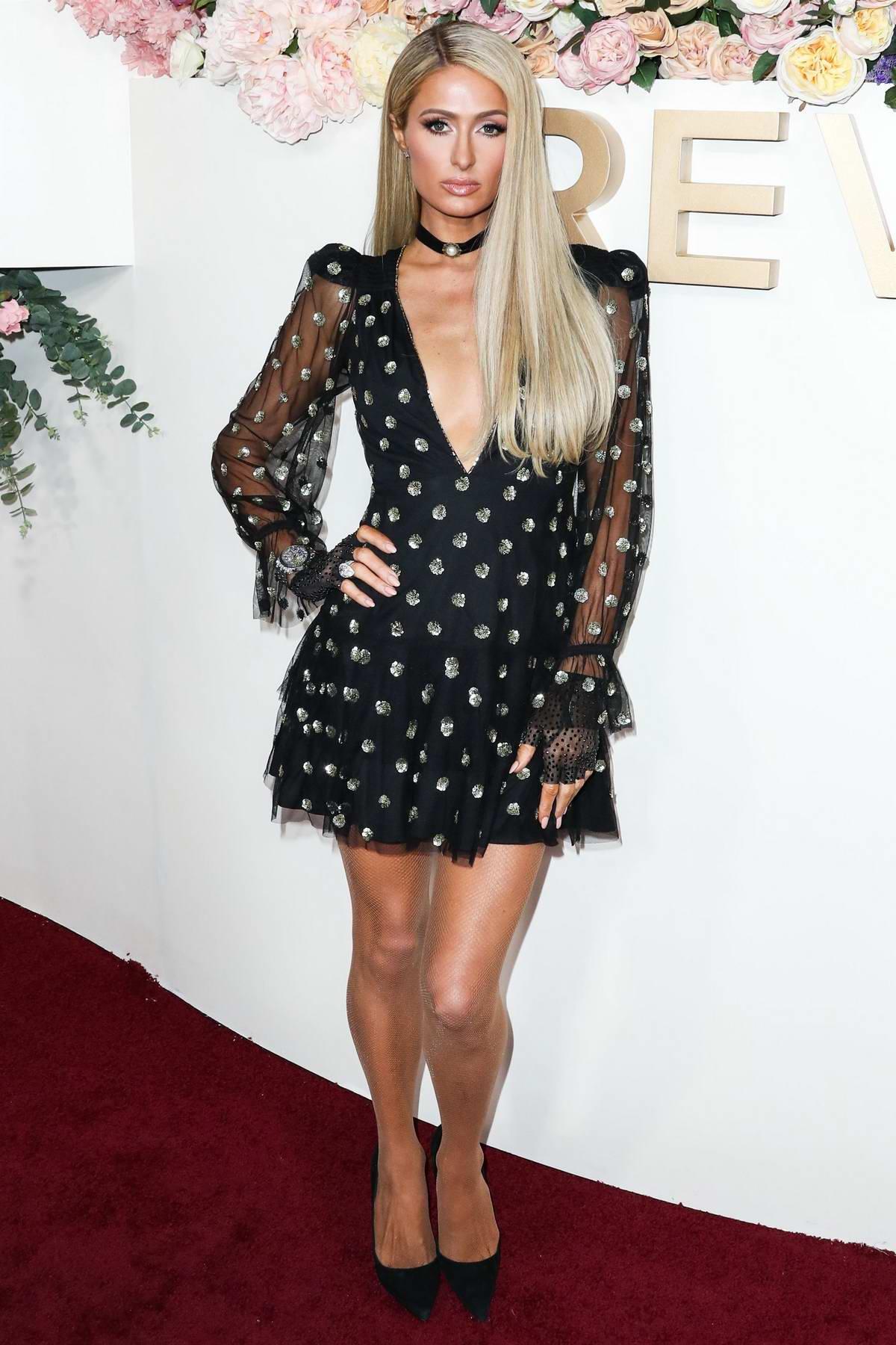 Paris Hilton attends the 3rd Annual REVOLVE Awards at Goya Studios in Hollywood, California