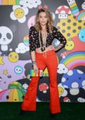 Paris Jackson attends Alice + Olivia by Stacey Bendet x FriendsWithYou Collection LA launch party in Hollywood, California