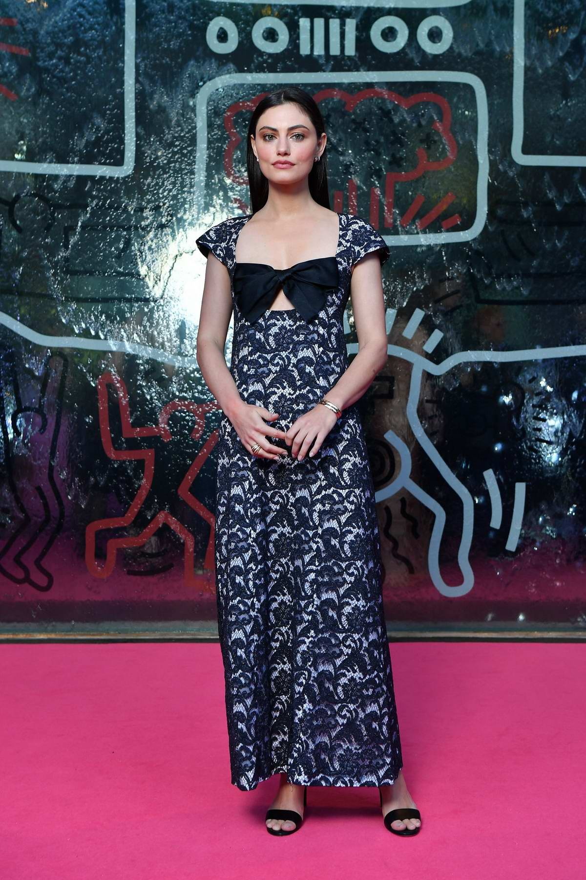Phoebe Tonkin attends the NGV Gala in Melbourne, Australia