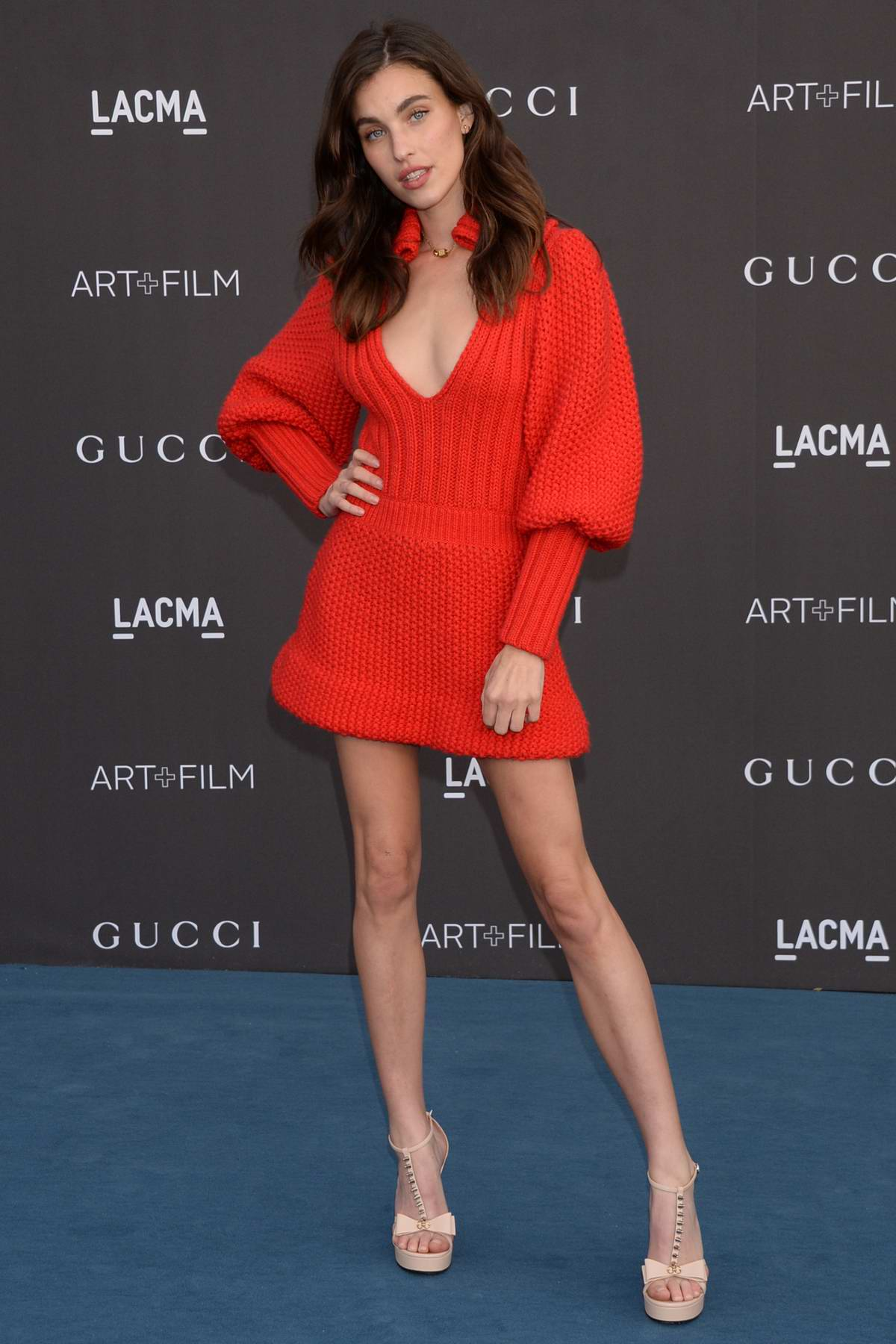 Rainey Qualley attends the 2019 LACMA 2019 Art + Film Gala in Los Angeles