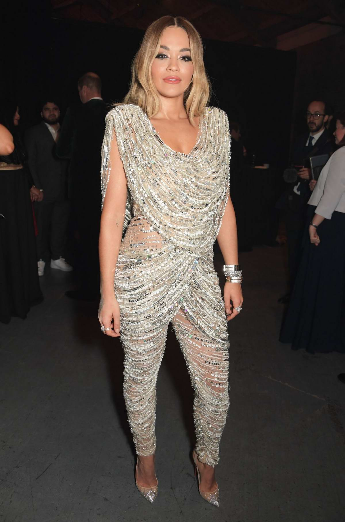 Rita Ora attends Centrepoint 50th Anniversary Gala at The Camden Roundhouse in London, UK