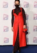 Rita Ora shows off her quirky style as she attends Radio Hits Live Birmingham, UK