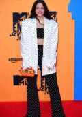 Rosalía attends the MTV European Music Awards 2019 at FIBES Conference and Exhibition Centre in Seville, Spain