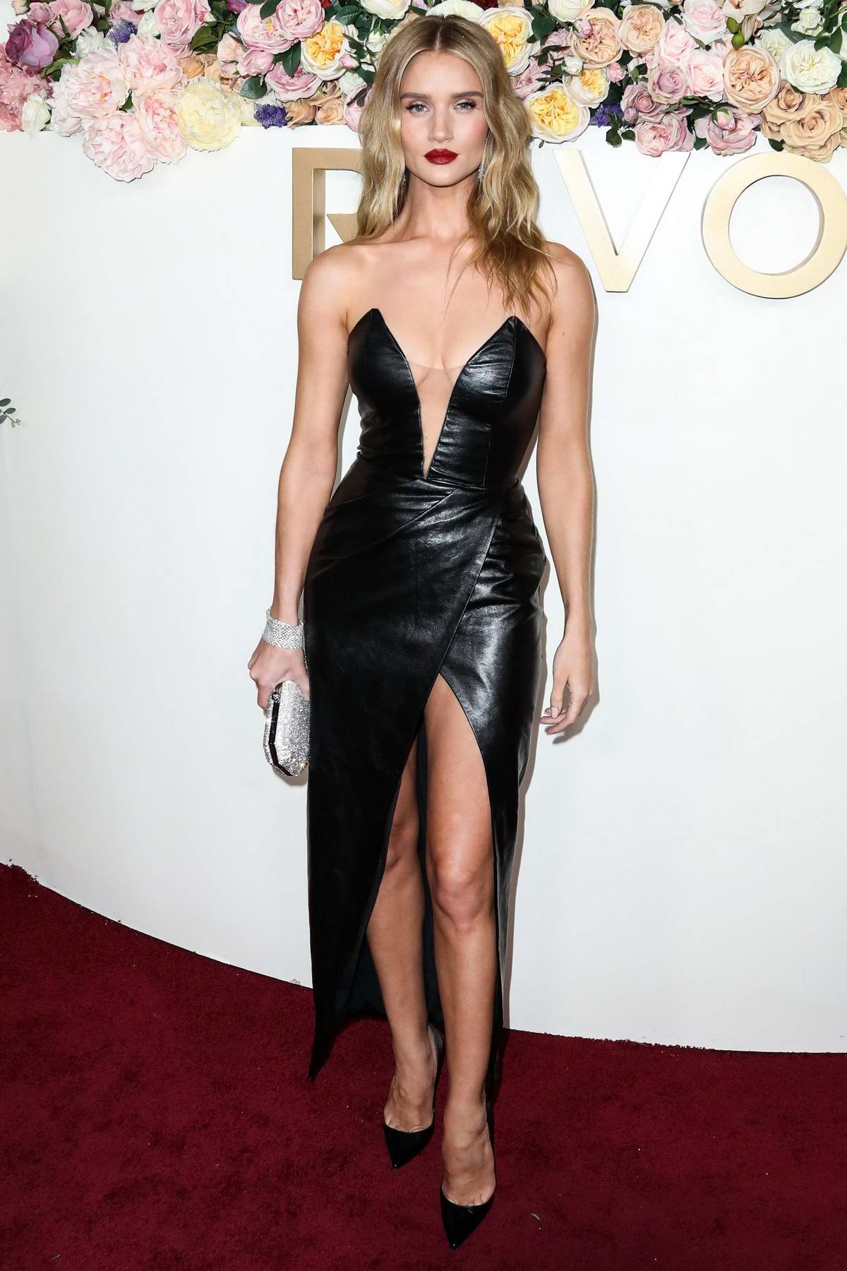 Rosie Huntington-Whiteley attends the 3rd Annual REVOLVE Awards at Goya Studios in Hollywood, California