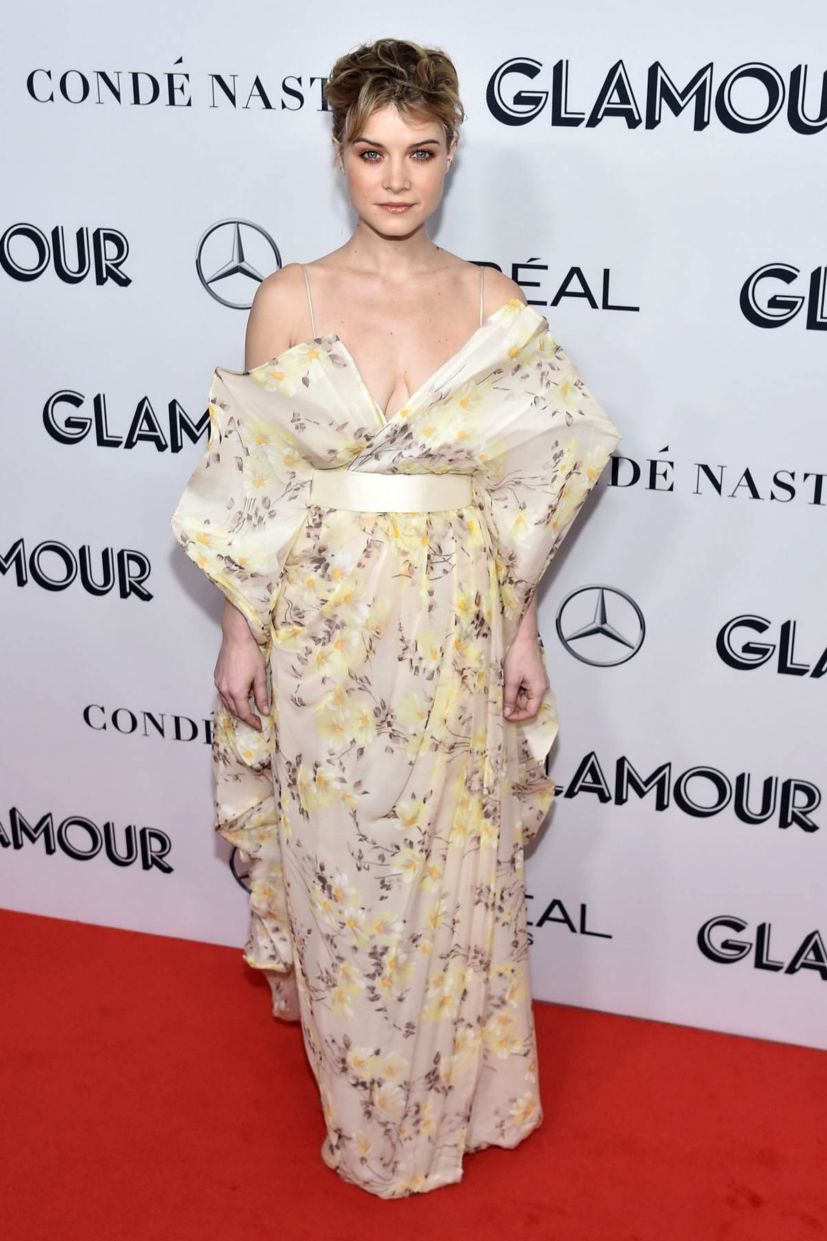 Sarah Jones attends the 2019 Glamour Women of the Year Awards at Alice Tully Hall in New York City