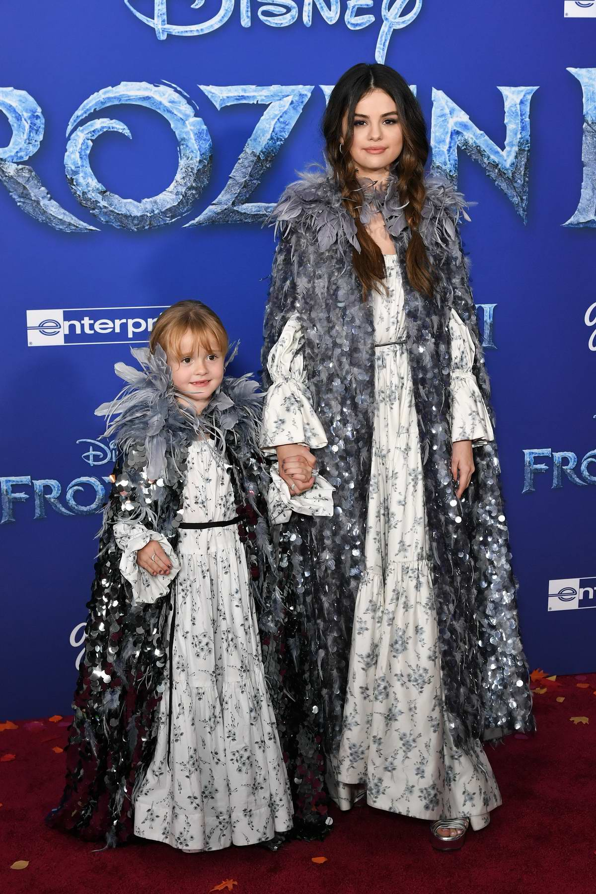 Selena Gomez attends the Premiere of Disney's 'Frozen 2' at Dolby Theatre in Hollywood, California