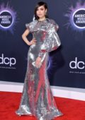 Sofia Carson attends the 2019 American Music Awards at Microsoft Theater in Los Angeles