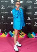 Sofia Reyes attends the LOS40 Music Awards 2019 at the WiZink Center in Madrid, Spain