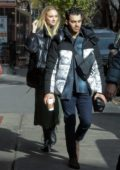 Sophie Turner and Joe Jonas stepped out for stroll on Thanksgiving in New York City