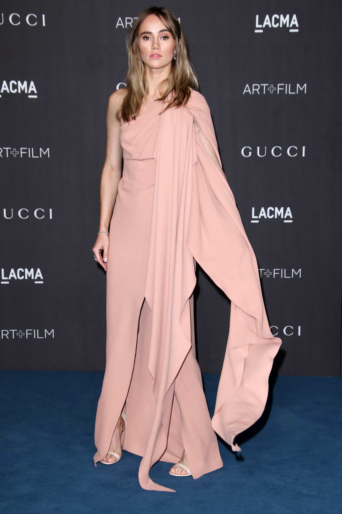 Suki Waterhouse attends the 2019 LACMA 2019 Art + Film Gala in Los Angeles
