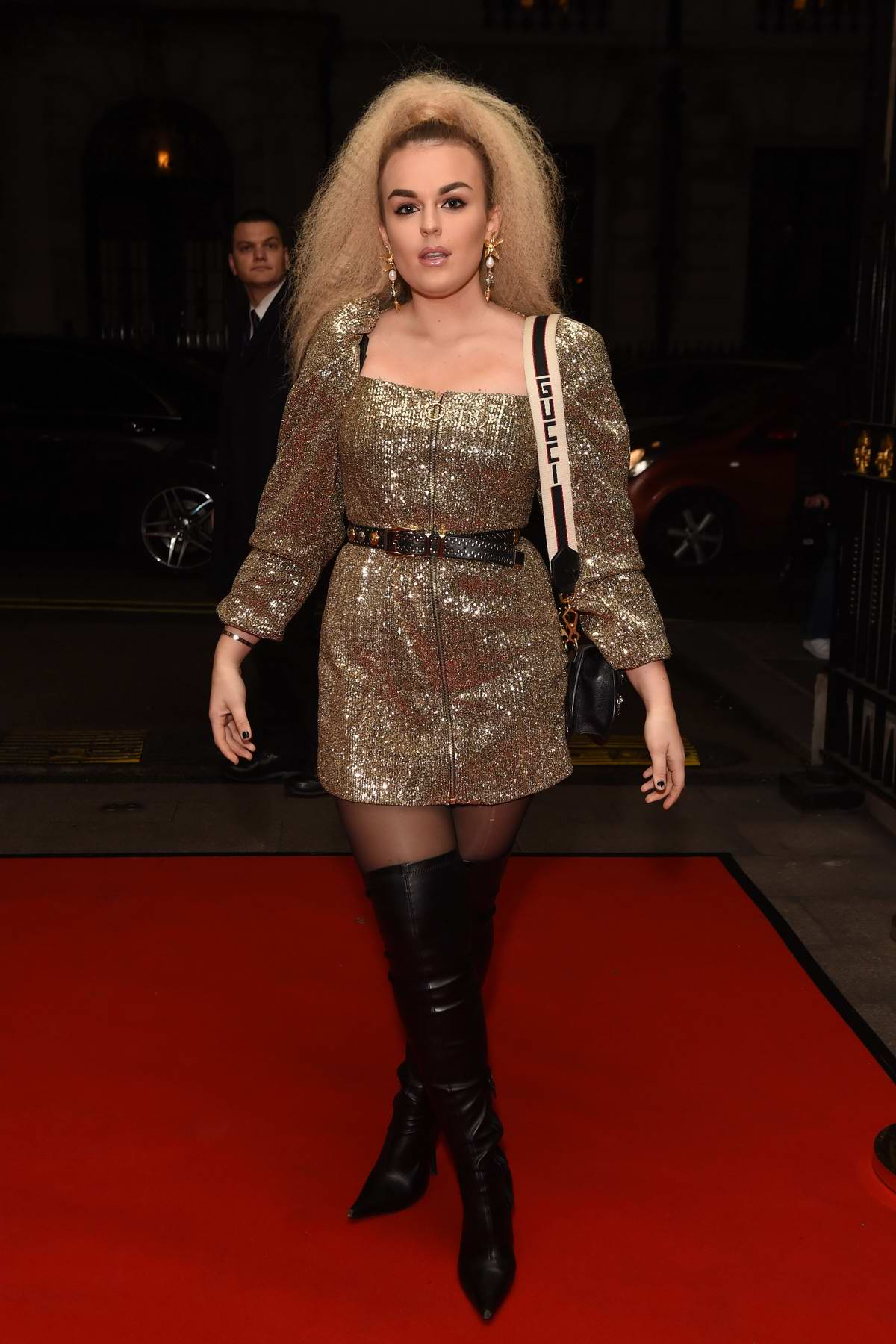 Tallia Storm attends the Float Like a Butterfly Ball Gala in London, UK