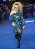 Tallia Storm attends the Premiere of 'Blue Story' at the Curzon Mayfair in London, UK