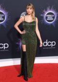 Taylor Swift attends the 2019 American Music Awards at Microsoft Theater in Los Angeles