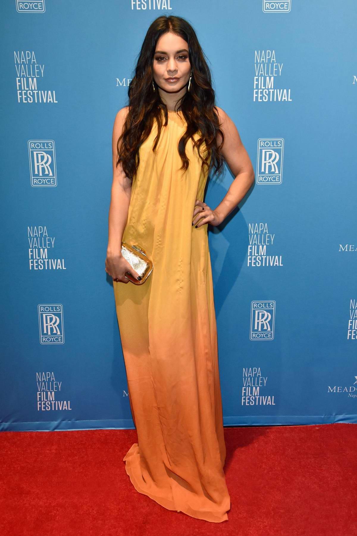 Vanessa Hudgens attends the Napa Valley Film Festival in Yountville, California