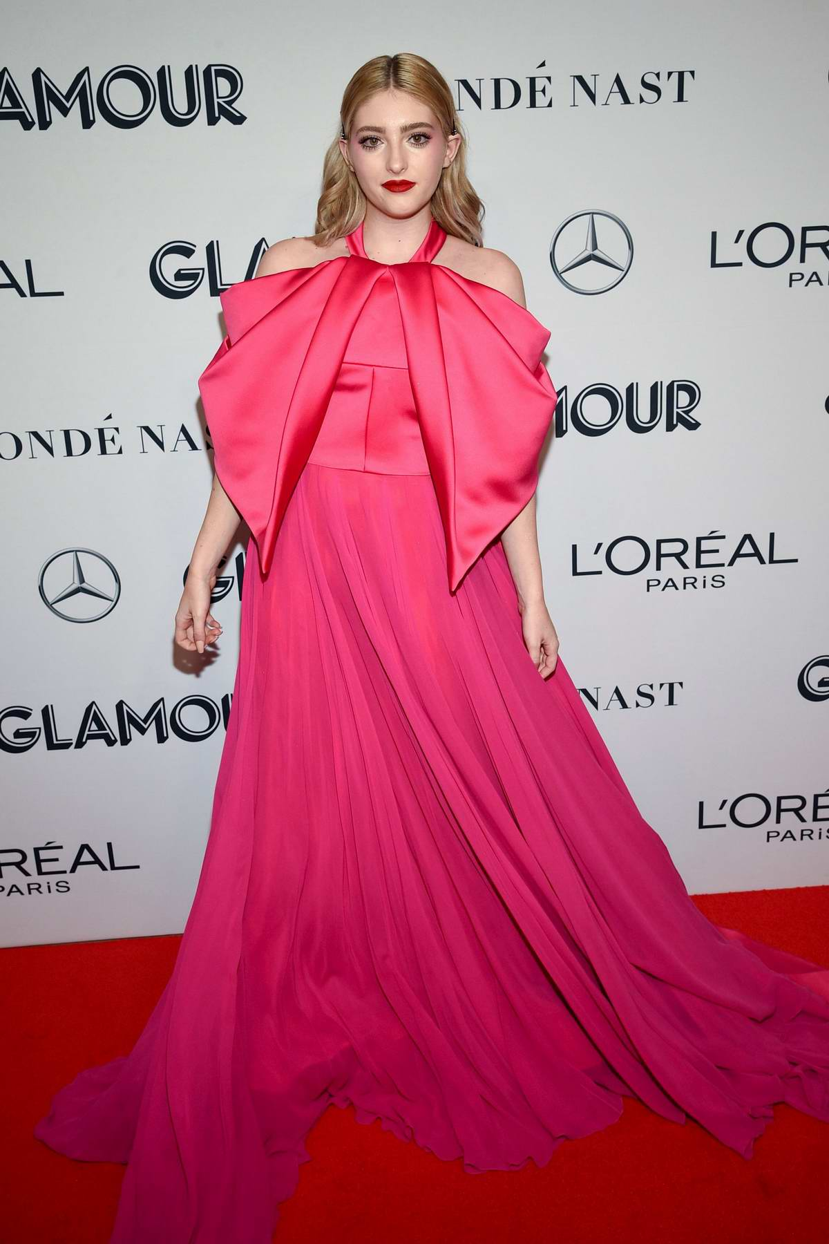 Willow Shields attends the 2019 Glamour Women of the Year Awards at Alice Tully Hall in New York City