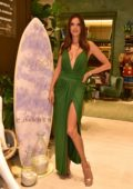 Alessandra Ambrosio attends the opening of her first 'Gal Floripa' store in Sao Paulo, Brazil