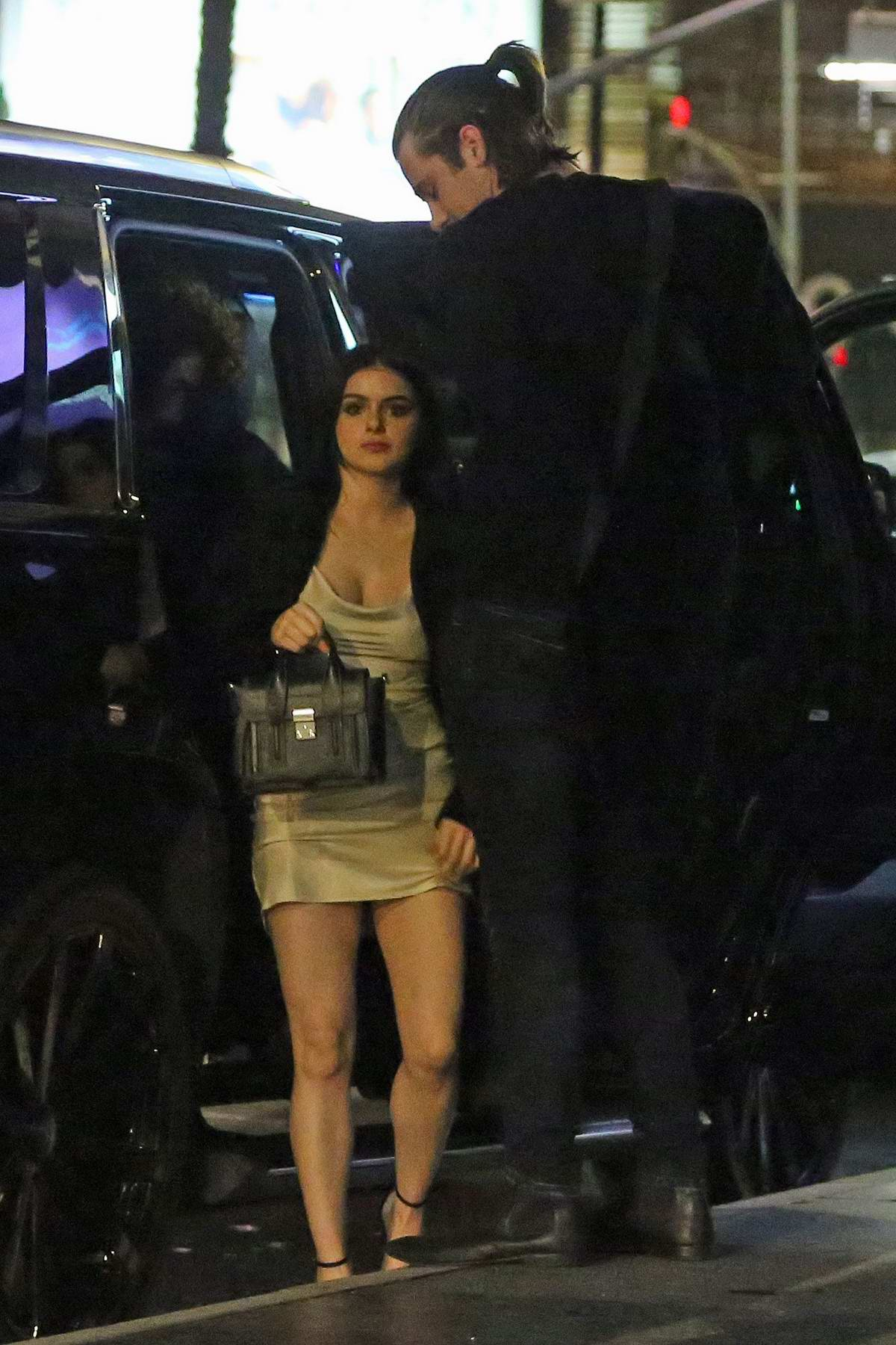 Ariel Winter spotted while out for a date night in Studio City, California