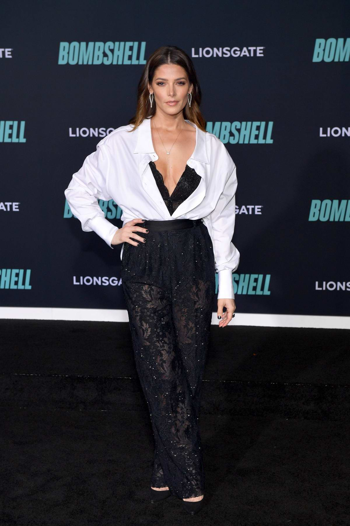 Ashley Greene attends a special screening of Bombshell in Westwood, California
