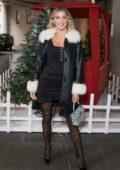 Ashley James attends Ashley James x Little Mistress Fashion Label Launch in London, UK