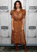 Ashley Tisdale visits the Build Series to discuss 'Merry Happy Whatever' at Build Studio in New York City